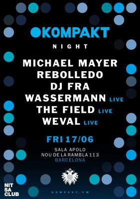 KOMPAKT label night at Nitsa