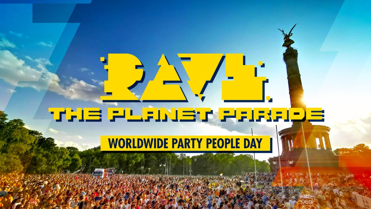 Rave the planet (image by Sebastian Wischmann)